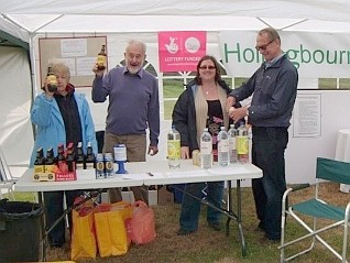 Refreshments for Janet, Peter, Natalie and 							Jim